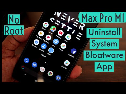 Remove Stock Apps without Root   Asus Zenfone Max Pro M1