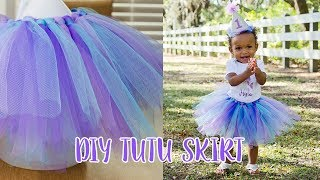HOW TO MAKE AN EASY TUTU SKIRT Simply Dovie