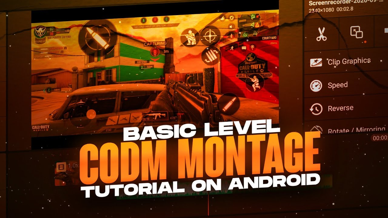 Make next level COD mobile montages on android | Basics to edit a COD Montage on android| Kinemaster