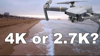 DJI Mavic PRO - 4k vs 2.7k vs 1080p (Downloadable footage)