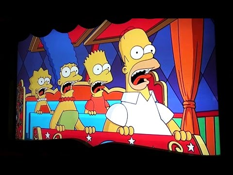 Simpsons Ride Videos (Off-ride) - Universal Studios Hollywood