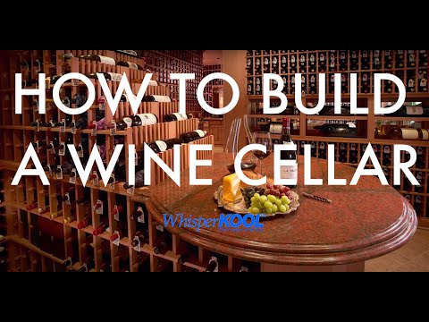 Whisperkool how to build a wine cellar youtube Cellar designs