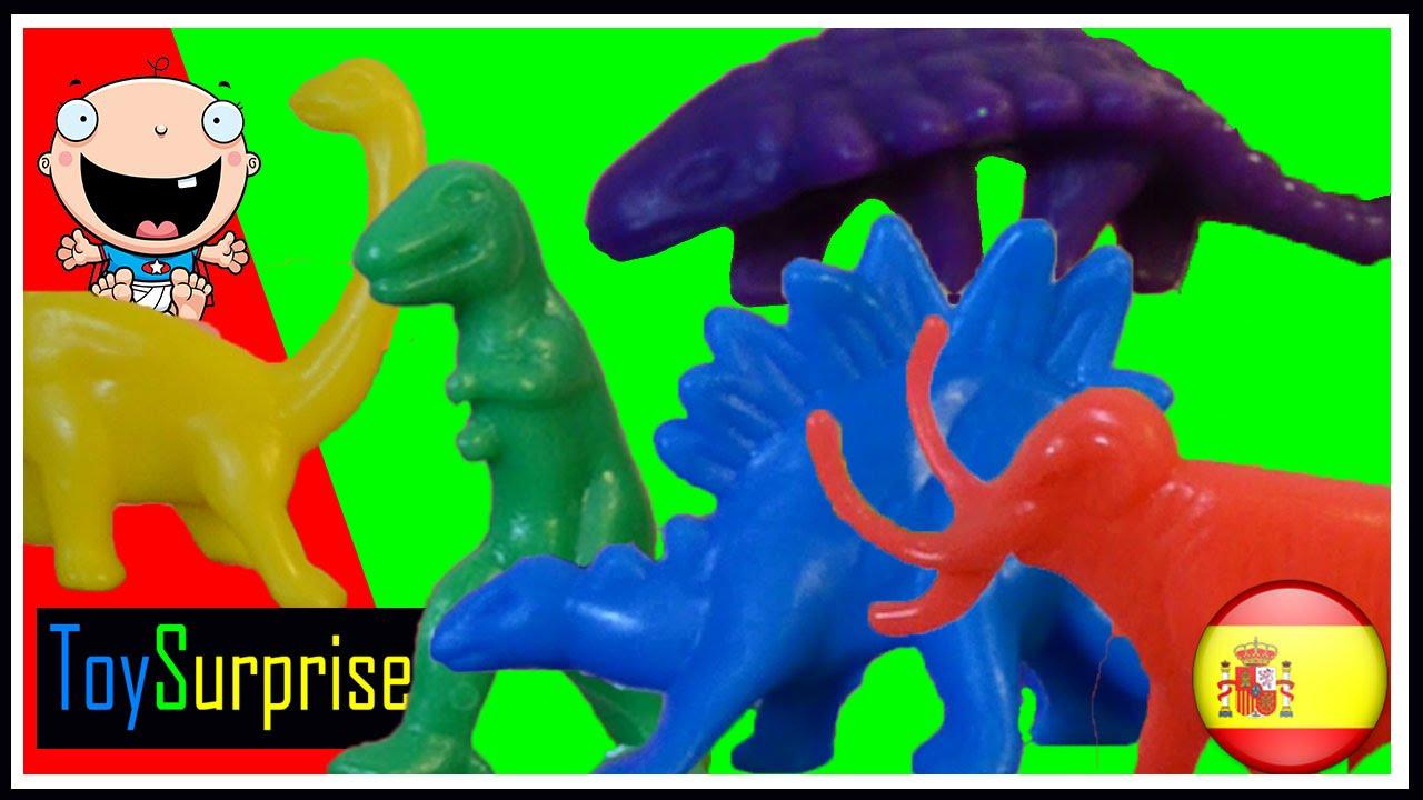 Dinosarios para niños | Aprende Los Colores con Dinosaurios en ...
