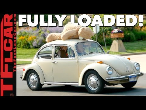 How Much Stuff Can We Fit in a 1971 VW Super Beetle? Beetle Diaries Ep. 8