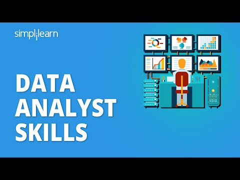Top 10 Skills To Become a Data Analyst In 2021 | Data Analyst Skills | Data Analytics | Simplilearn