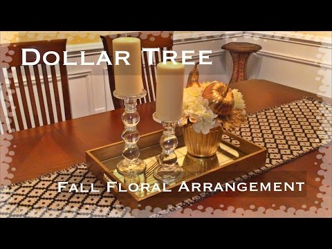 Dollar Tree Floral Arrangement /FALL🍂