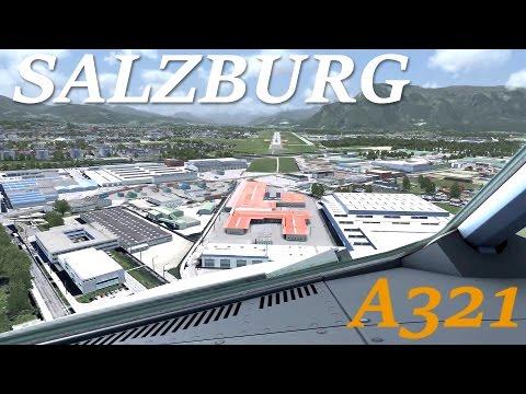 [FSX] A321 SALZBURG