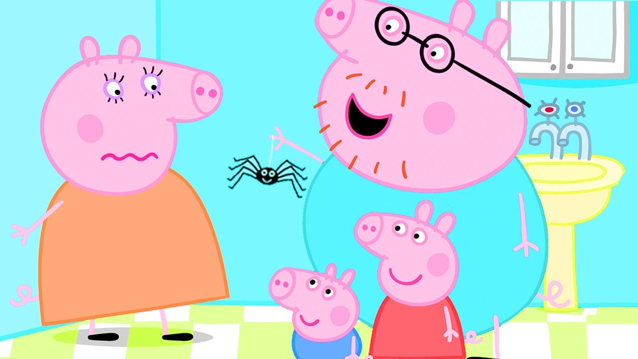 Peppa Pig Official Channel   Spider Web