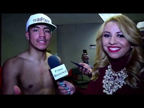 Jesse Vargas moments after defeating Sadam Ali | Exclusive interview