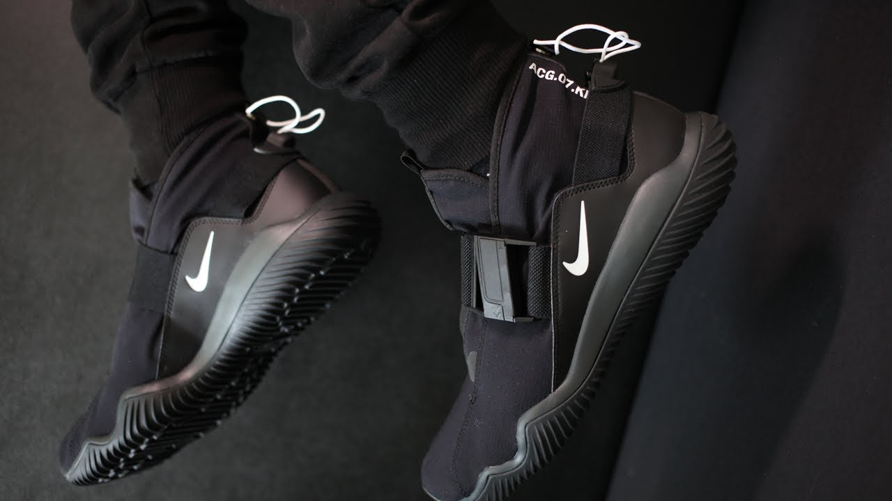 super popular 8232a b00a9 2-Minute Unboxing SPECIAL- The New NikeLab ACG 07 KMTR (Komyuter) with  Onfoot   Feature Deep-dive