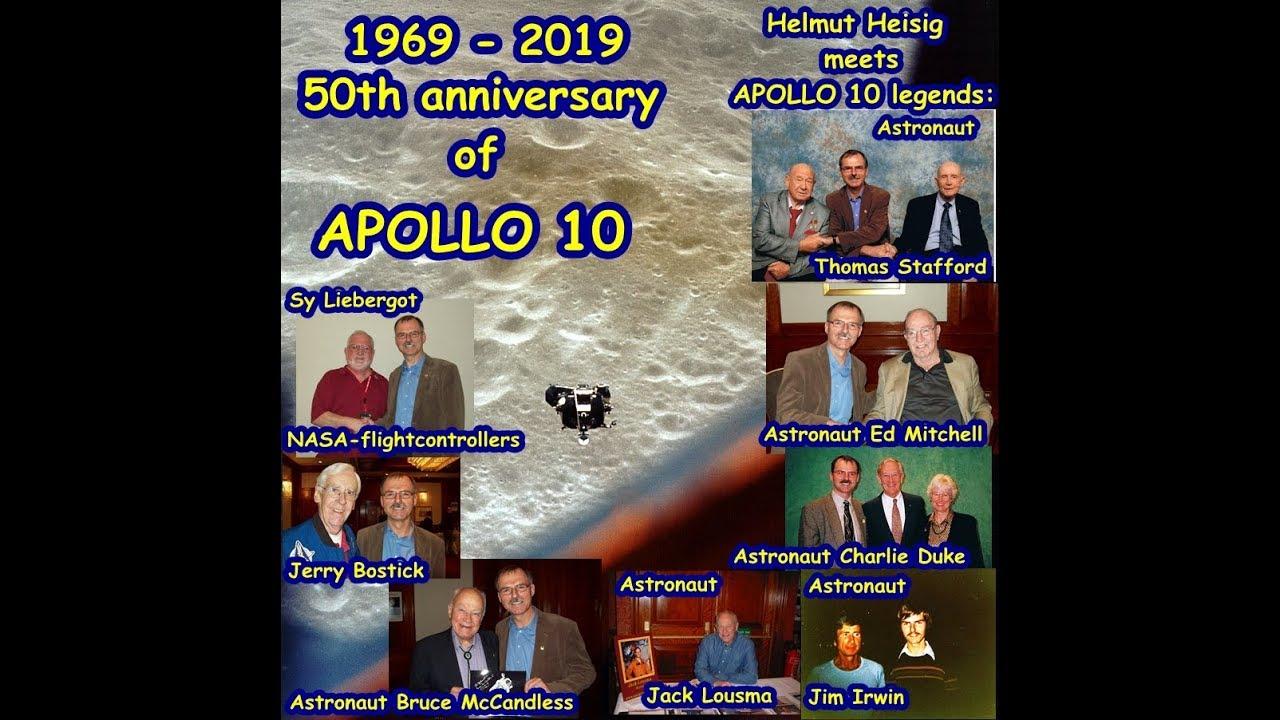 50th anniversary of APOLLO 10,May,18th-May,26th,1969