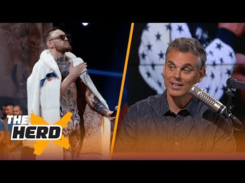 Thumbnail: Conor McGregor vs. Floyd Mayweather: Why are people ok with Conor's trash-talk? | THE HERD