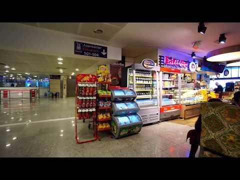 Turkey, Istanbul Atatürk Airport, walking around