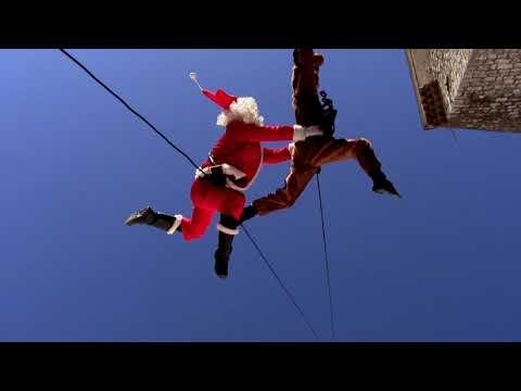 danse verticale : spectacle de Noël de la compagnie Rêverie