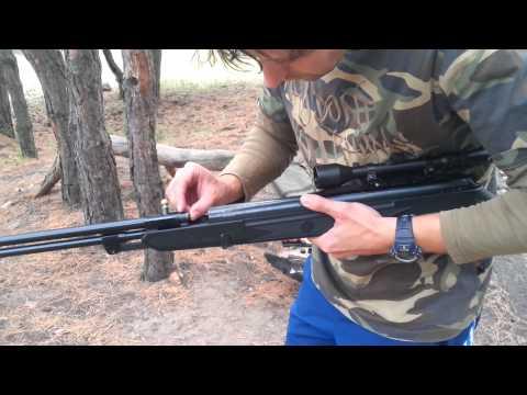Мощная пневматическая винтовка Hatsan 150 Torpedo