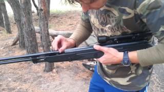 Мощная пневматическая винтовка Hatsan 150 Torpedo(Пристреляли винтовку можно купить тут 070.com.ua., 2015-09-14T10:03:58.000Z)