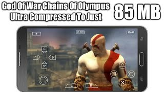 85MB | God Of War Chains Of Olympus PPSSPP Settings+Gameplay | Ultra Compressed Link In Description