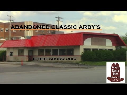 Abandoned Classic Arby's Restaurant