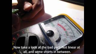 How to detect a bad potentiometer - DIY