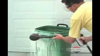 How To Clean Garbage Cans With A Briggs & Stratton Pressure Washer