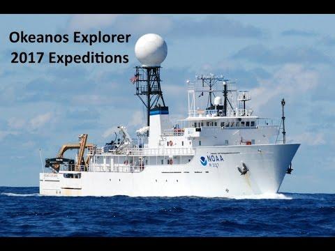 Okeanos Explorer: Exploring Remote Pacific MPAs Cam 1, 2 & 3 combined