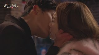 [The Dearest Lady] 최고의 연인 31회 - Kang Min Kyung &  Kwak Hi Sung kiss 20160118