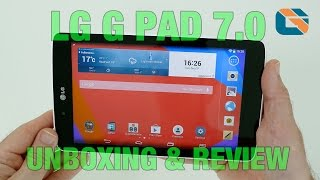 LG G Pad 7.0 V400 Unboxing & Review #LG #LGGPad #Android
