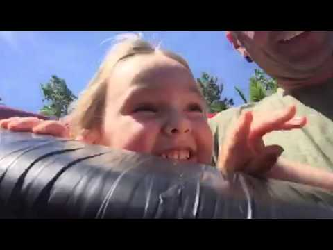 Chloe and the Tiger-Coaster