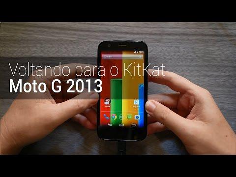 Como voltar para o Android KitKat no Moto G 2013 | TudoCelular.com