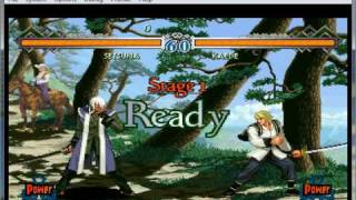 The Last Blade 2: Heart of the Samurai on nullDC 1.0.4 - Sega Dreamcast Emulator