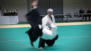 Moriteru Ueshiba Doshu - Demonstration - 12th International Aikido Federation Congress (2016)