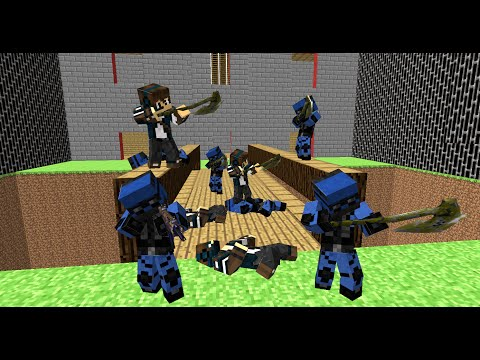 Advanced Blocky Combat SWAT Playthrough