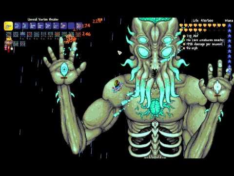 Terraria 1.3.0.7: Expert Moon Lord kill (Ranger)