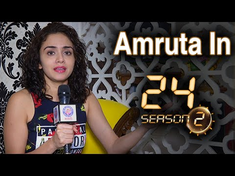 EXCLUSIVE: Amruta Khanvilkar Talks About Her Role In 24 | Season 2 | Anil Kapoor