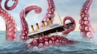 Apa yang Akan Terjadi Jika Titanic Bertemu Kraken, Bukan Gunung Es?