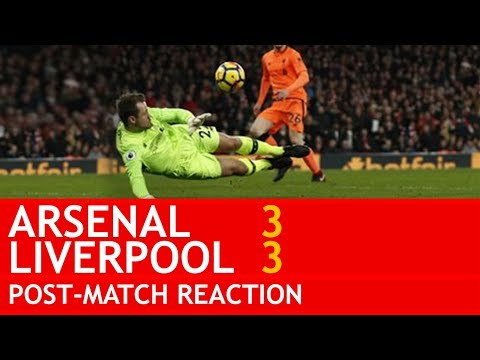 """""""MIGNOLET IS A TOTAL IDIOT!"""" Arsenal v Liverpool 3-3 Fan Reaction"""