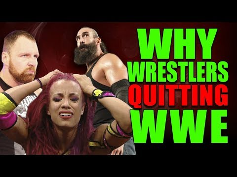 Reasons Why So Many WWE Wrestlers Are QUITTING WWE (Requesting Their Release)