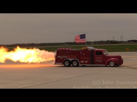 2018 Joint Base MDL Open House & Air Show - Aftershock Jet Truck