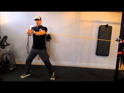 Golf Core Walkout Exercise