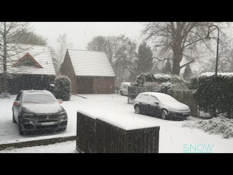 Daily Life --- SNOW in DUSSELDORF