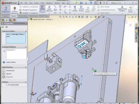 Lunch & Learn - SOLIDWORKS 3D Sketching & Flexible Tubing