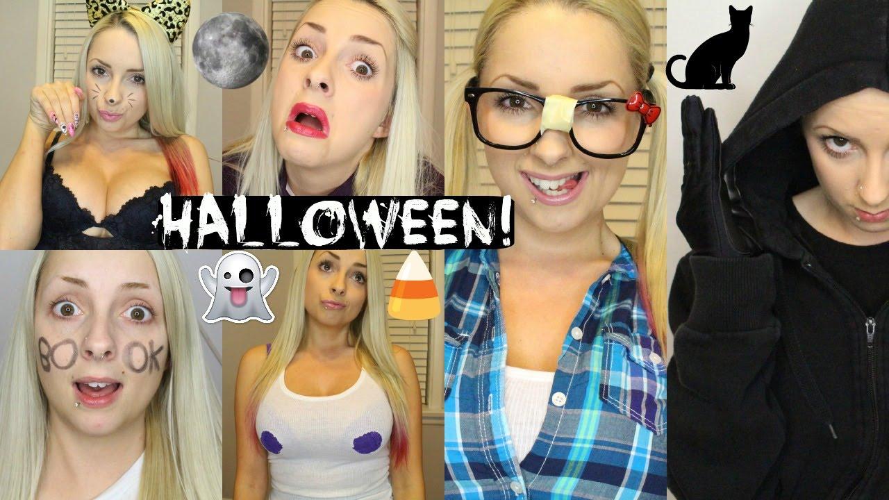 10 Last Minute Halloween Costume Ideas!!! - YouTube
