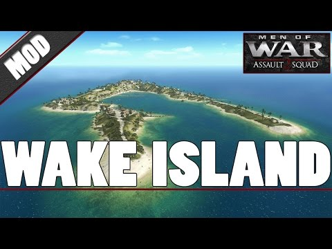 Wake Island - Battlefield 1942 & 43 - Men of War: Assault Squad 2 [MOD]
