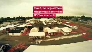 Incredible aerial view of MSF