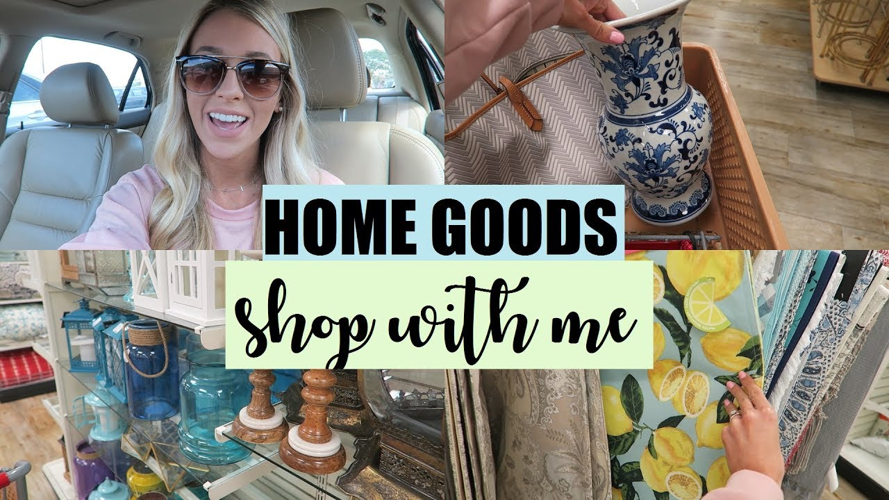 home goods shop with me shopping vlog erica lee youtube. Black Bedroom Furniture Sets. Home Design Ideas