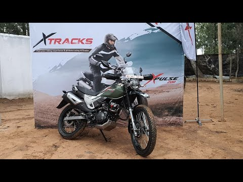 Hero XTRACKS Bangalore - HERO XPULSE 200