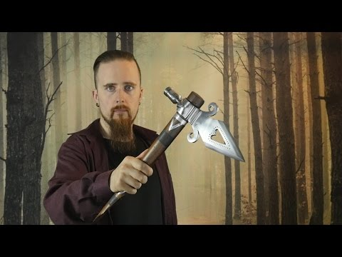 The Most Brutal Tomahawk - Pipe Spontoon Hawk By Windlass Steelcrafts