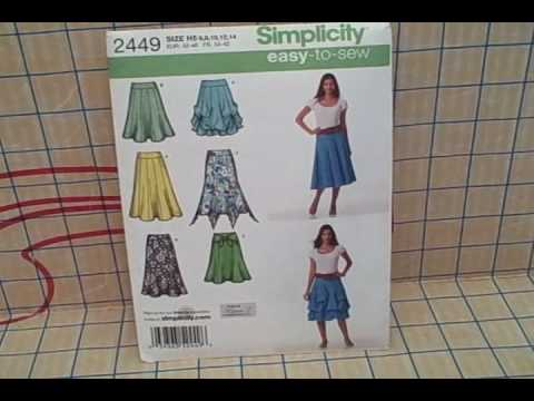 Tips for Sewing Pattern Beginners- Whitney Sews - YouTube