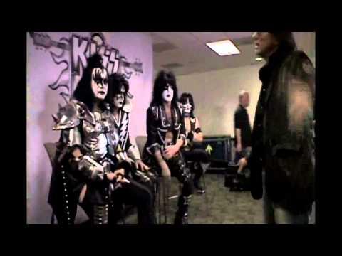 CNN Reporter Alan Duke Interviews KISS Sporting His Illuminati Patch