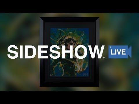 Olivia De Berardinis - Hela: Goddess of Death Fine Art Print - Sideshow Live